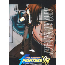 Carpeta Plastica Kyo Kusanagi De King Of Fighters 98 Y0283 1