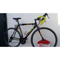 Bicicleta Denalli Black700 Aluminio Ruta Triatlon Trek 2017