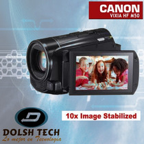 Nueva Canon Vixia Hf-m50 Hd 8gb Memoria Flash Interna