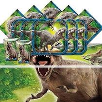 Jurassic Park Mundial Dinosaurios Cumpleaños Termine Partido