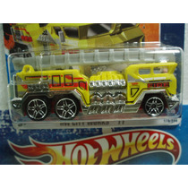 Hot Wheels Camion Bomberos 5 Alarm Amarillo Tc 178/244 2011