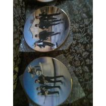 Platos Decorativos De The Beatles,la Pandilla Y Elvis Presle