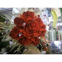 Ramo De Novia O Xv Años De Rosas Rojas