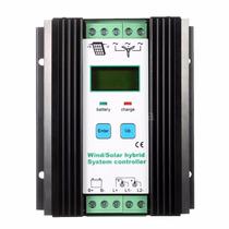 Control De Carga De Baterias Hibrido 12 / 24vdc Solar Eolico