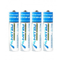 Paquete De 4 Baterias Recargables Aaa Mitzu