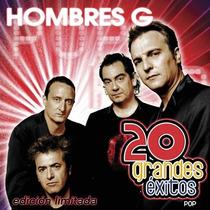 Hombres G 20 Grandes Exitos Pop 2cd Nuevo Cerrado Nacional