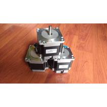 Kit 3 Motor A Pasos Nema 23 Nuevo! Cnc Impresora 3d