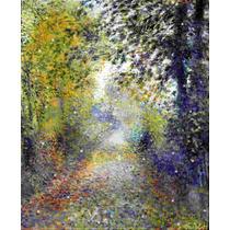 Lienzo Tela Auguste Renoir El Bosque 50 X 70 Cm Decoración