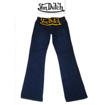 Si Envio Jeans Von Dutch Dama 5 Chico S Mezclilla Pantalon