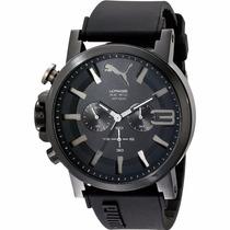 Puma Ultrasize Crono 50mm Diametro Reloj Negro Diego Vez