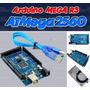 Arduino Mega - Atmega2560 16au + Cable Usb + Envio Por Dhl
