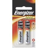 Pila Energizer Alcalina Aaaa Con 2 Piezas