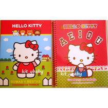 Hello Kitty, Cuadernos D Activiades Preescolar, Original