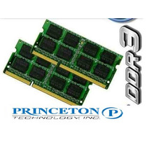 Memoria Sodimm Ddr3 4gb 1066mhz Princeton Laptop Macbook Dmm