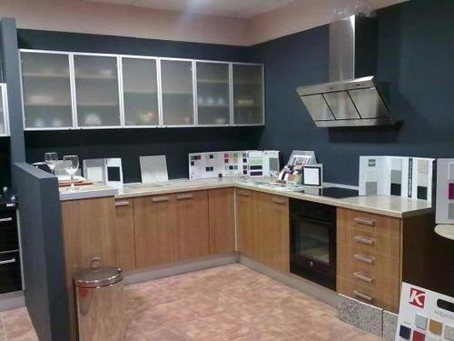 Cocinas integrales puertas de aluminio cocinas integrales - Puertas para cocinas integrales ...