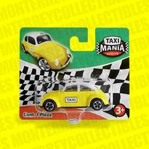 Taxi Mania Vocho Taxi Df Amarillo Tipo Hot Wheels