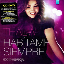 Thalia, Habitame Siempre. Disco Cd + Dvd