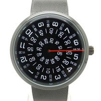 Paidu Reloj Acero Inox. Placas Disco Giratorias Marcan H/m/s