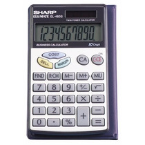Calculadora Sharp El-480srb 10-digit Twin Powered Basic
