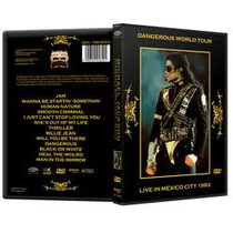 Michael Jackson Dangerous Tour Mexico Dvd + Lp Thriller 80