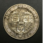 Unk106 Moneda Gran Bretaña 1 Shilling 1899 Vf+ Plata Ayff