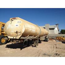 Tanque De Agua Freuhauf Mod. 1994 Capacidad 36,000 Lts