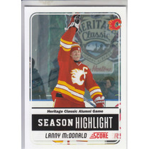 2011-2012 Score Glossy Lanny Mcdonald Rw Calgary Flames Nhl