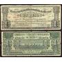 Mi-coa-1 Billete De Coahuila De 1 Peso Gob. Const.