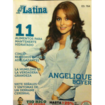 Angelique Boyer Revista Vida Latina