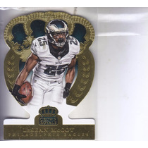 2014 Crown Royale Dc Gold Lesean Mccoy Rb Eagles /99
