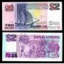 Singapur 2 Dolares 1992