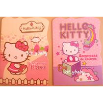 Hello Kitty, Libro De Lectura, 2 Modelos, Sanrio 100%