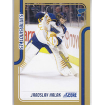 2011-2012 Score Gold Jaroslav Halak G St Louis Blues Nhl