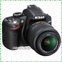 Nikon D3200 24.2 Mp Full Hd Con Lente 18-55mm Vr Reflex Fdp