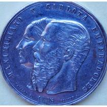 Medalla Mexico Orden De Guadalupe Maximiliano Carlota 1865