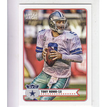 2012 Topps Magic Mini Tony Romo Qb Dallas Cowboys