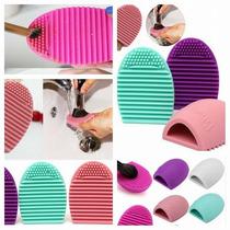 Limpia Brochas Maquillaje Brushegg Limpiador Lavar Colores