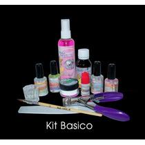 Kit Básico Studio Nails Uñas Acrílico