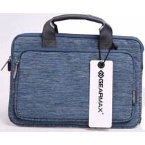 Handbag Tela Para Macbook 15.4 Lotus Azul