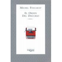 El Orden Del Discurso , Michel Foucault