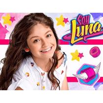 Kit Imprimible Soy Luna Diseña Tarjetas Cumples Y Mas