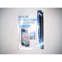 Wwow Mica De Privacidad Lg C205 Excelentes!!!