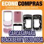 Carcasa Completa Para Blackberry 8530 Rosa 100% Nuevo