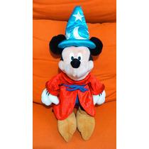 Títere Mickey Mouse Aprendiz Mago Fantasía Habla En Español