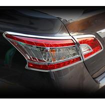 Sentra Nissan 2013 Cromo De Calaveras 4 Pzas Importadas Au1