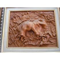 Elefante. Obra En Piel
