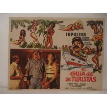 Capulina , El Guia De Las Turistas , Cartel De Cine