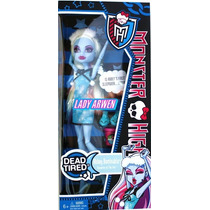 Monster High Dead Tired Pijama Abbey Bominable Draculaura