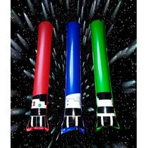 50 Sables Star Wars Inflables Espadas Yoda Vader Luke Fiesta