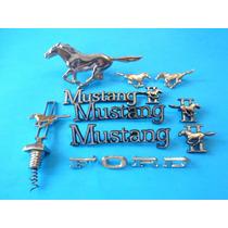 Emblemas Ford Mustang 2 Kit